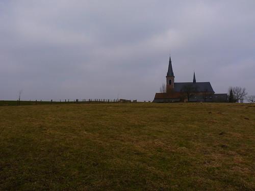 L'église Onze-Lieve-Vrouw de Bellingen