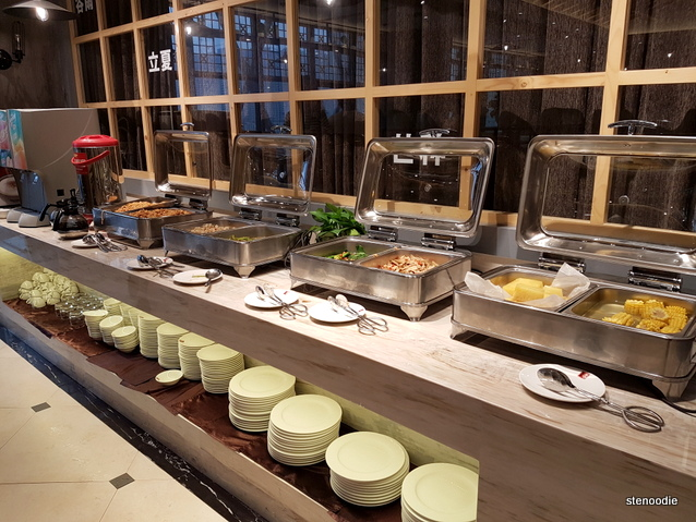 Tongyuan Hotel breakfast buffet