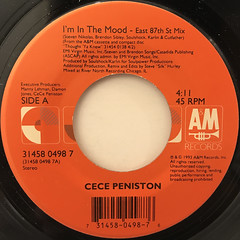 CE CE PENISTON:I'M IN THE MOOD(LABEL SIDE-A)