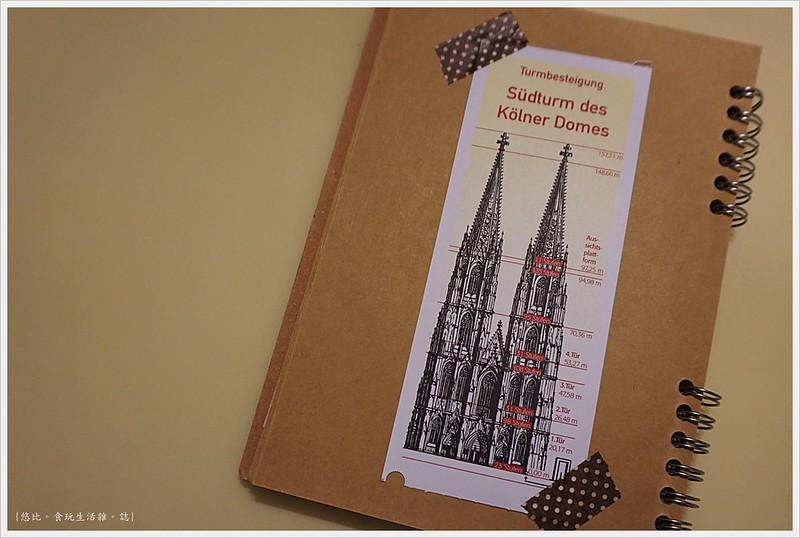 科隆大教堂-92-登頂門票