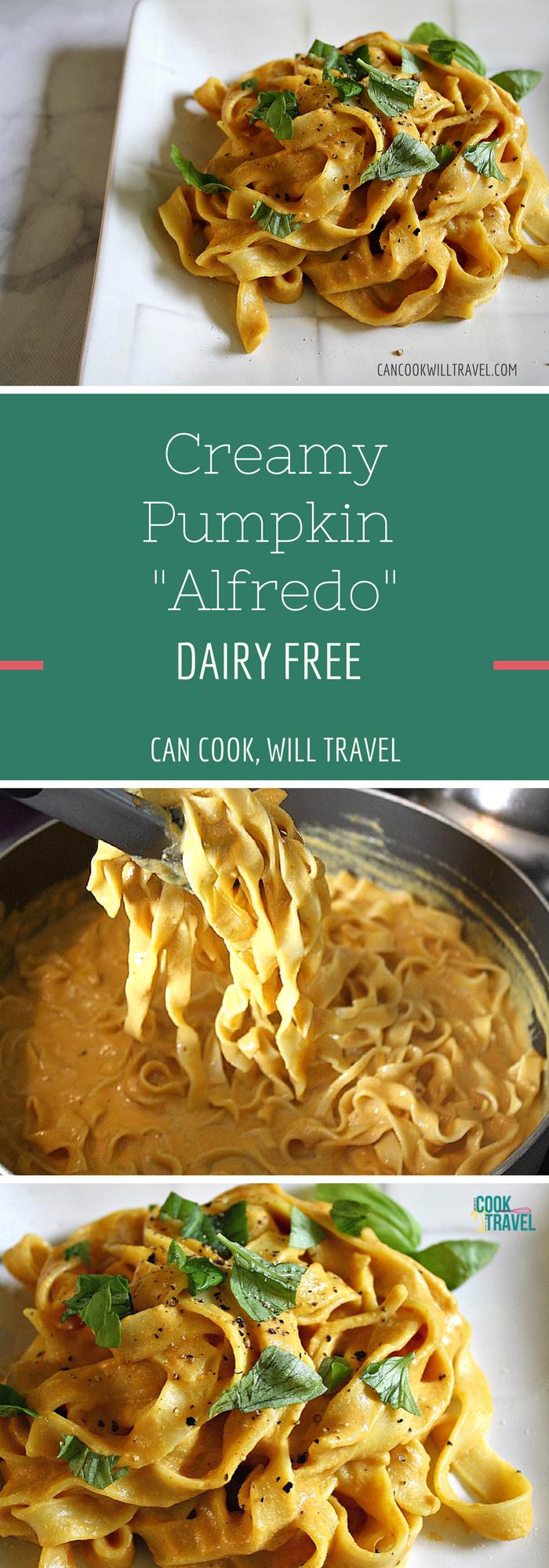 Creamy Pumpkin Alfredo_Collage2