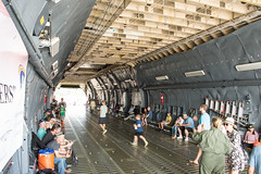 Interior of Lockheed C-5M Super Galaxy (60017)