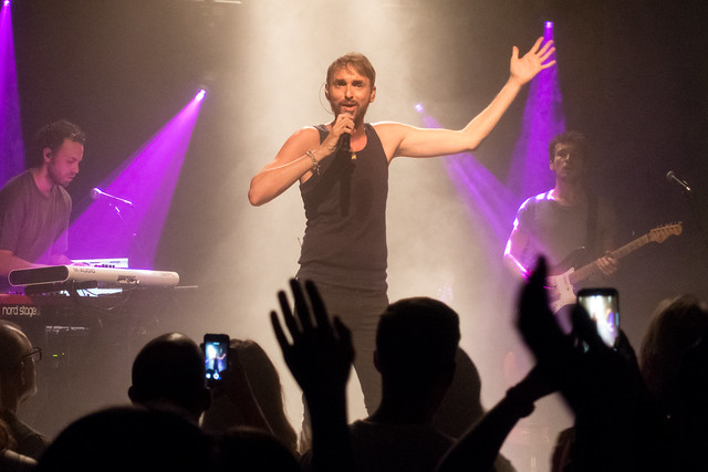 Christophe Willem : Campe To Star - The stars, Paris (2017)