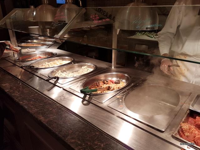 Vinnie Zucchini's Italian Buffet Pasta