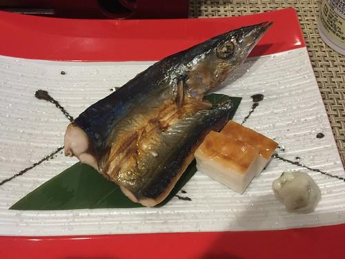 トスラブ館山ルアーナ 朝食 秋刀魚