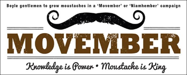 Movember / Niamhember