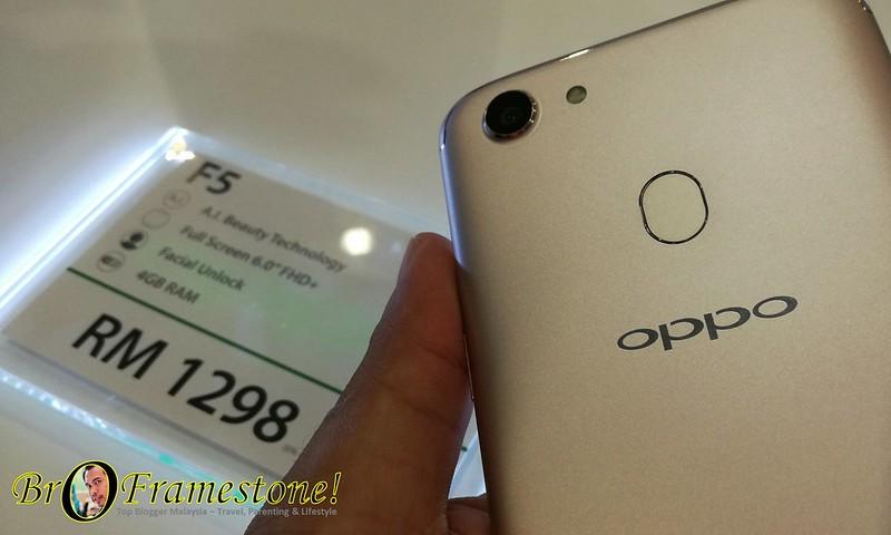 OPPO F5 Pasaran Malaysia RM1,298
