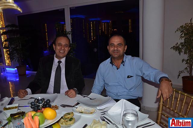 Alanya Belediye Başkan Yardımcısı Ali Yenialp ve Niyazi Erdem