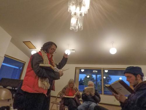 Sacred Harp Singing in Langley-5