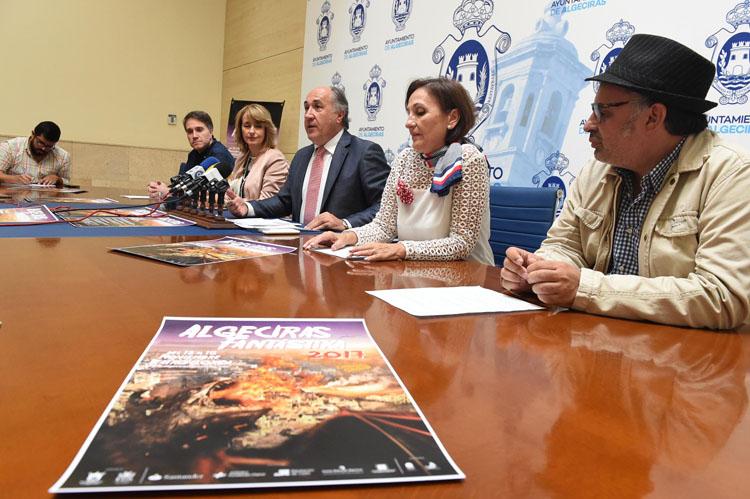 RUEDA DE PRENSA PRESENTACIÓN PROGRAMACIÓN ALGECIRAS FANTÁSTIKA 2