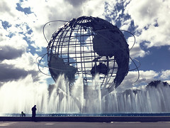 The Unisphere - World's Fair Grounds - Flushing Meadow Park
