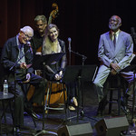With Bill Cantos on Piano, Trey Henry on bass, and special guest Hubert Laws on flute.   All images ©2017 Bob Barry