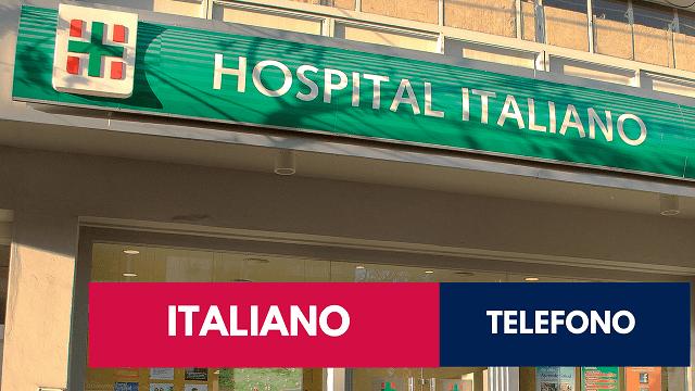 telefono hospital italiano