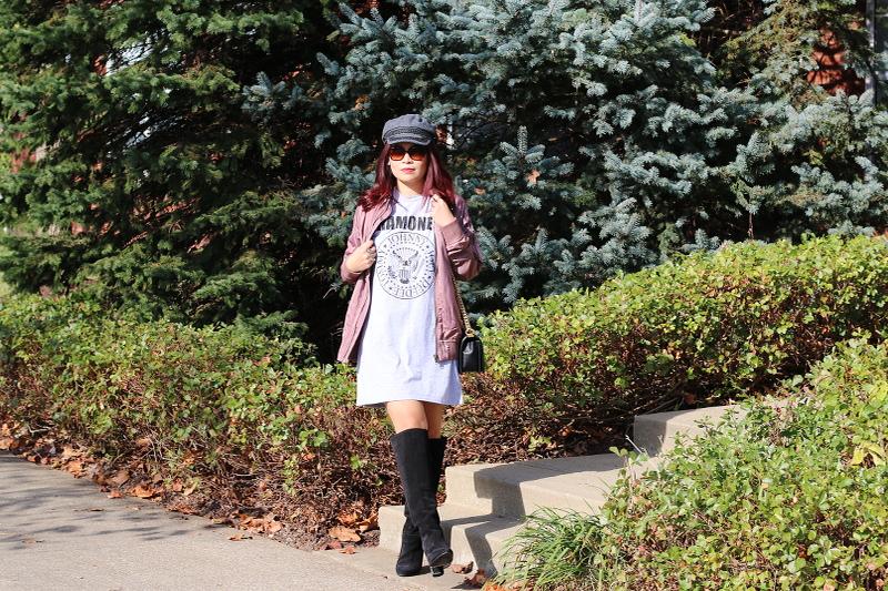 ramones-shirt-dress-tall-boots-4
