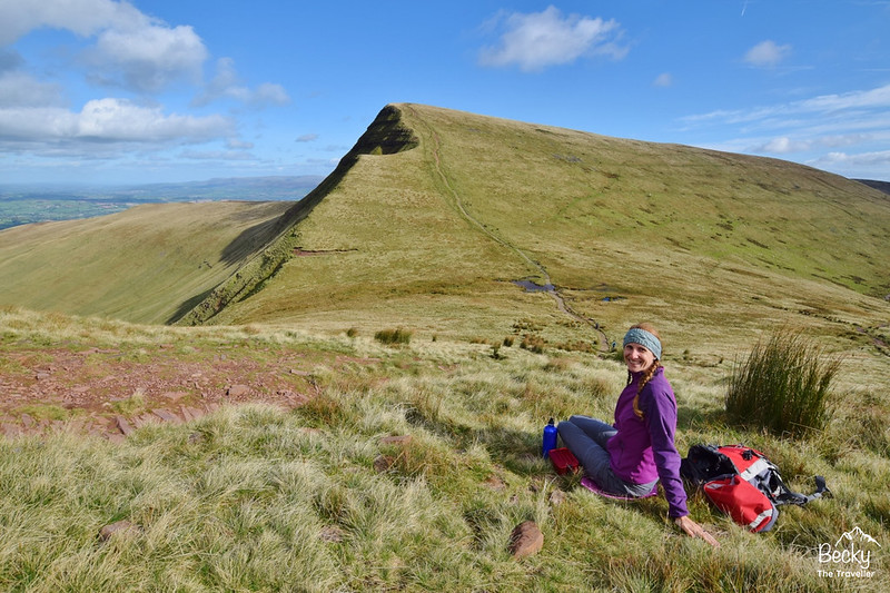 Pen y Fan walk in Brecon Beacons