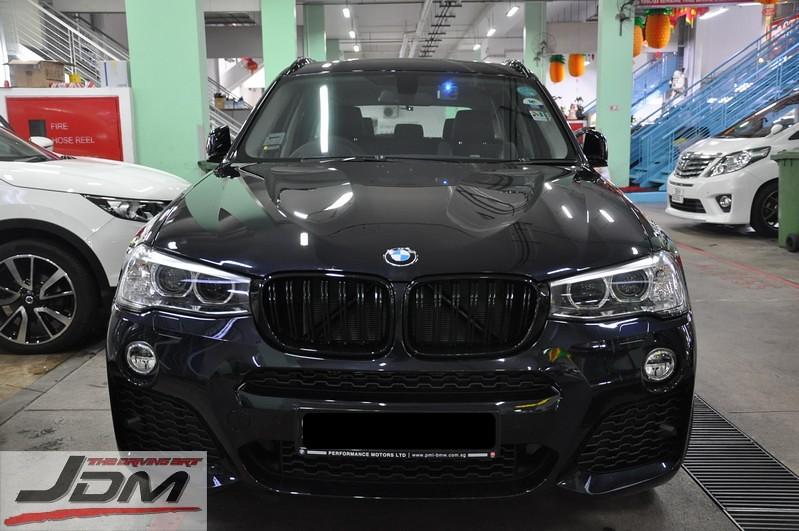 Etwas Neues genug BMW X3 LCI F25 & X4 F26 M Look Double Slate Kidney Grill | BMW.SG #YY_13
