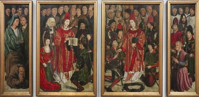 Panels of St. Vincent, ca. 1470, Nuno Goncalves