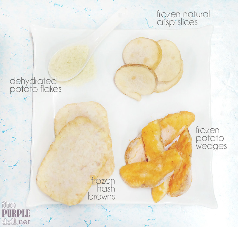 Frozen and Dehydrated US Potato Variants