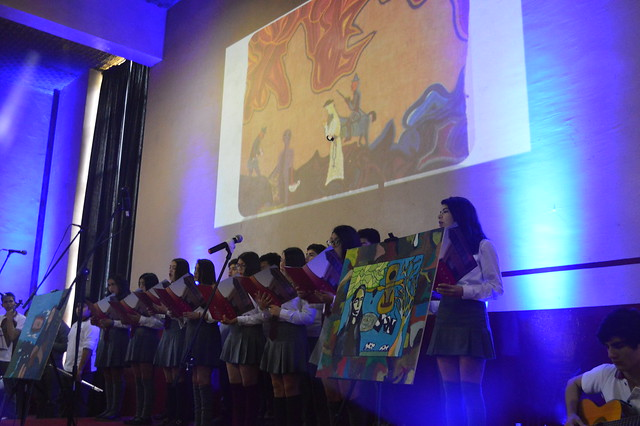 Homenaje a los 100 años de Violeta Parra