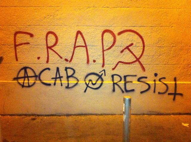 f.r.a.p. acab resist