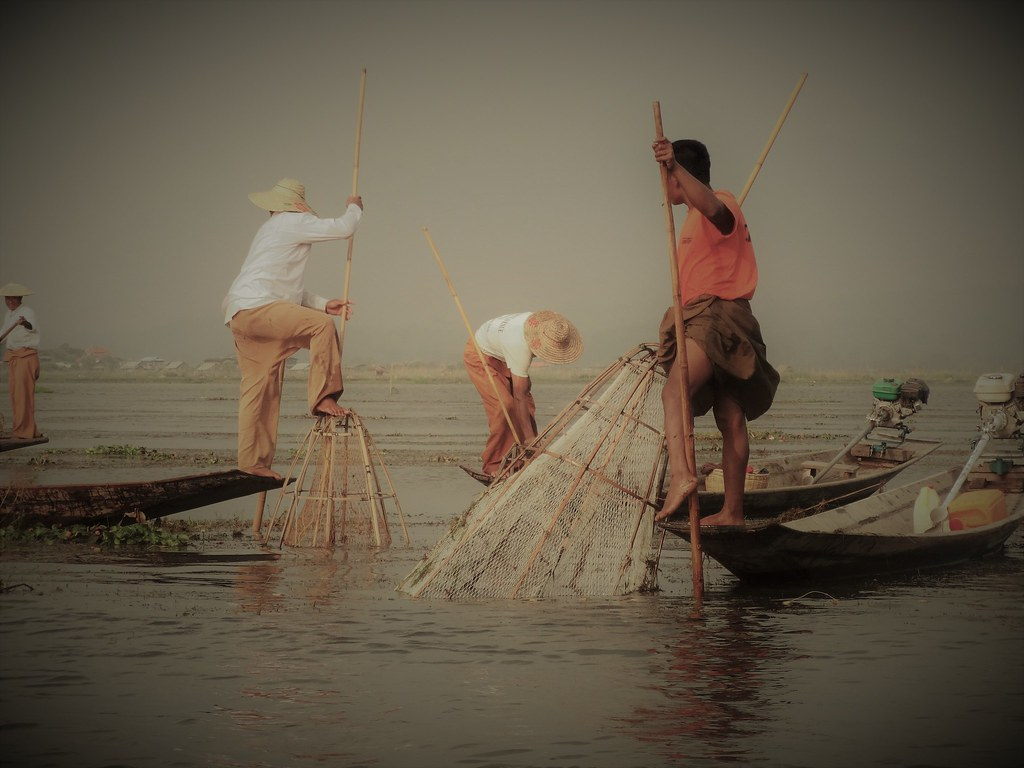 Jezioro Inle, Birma