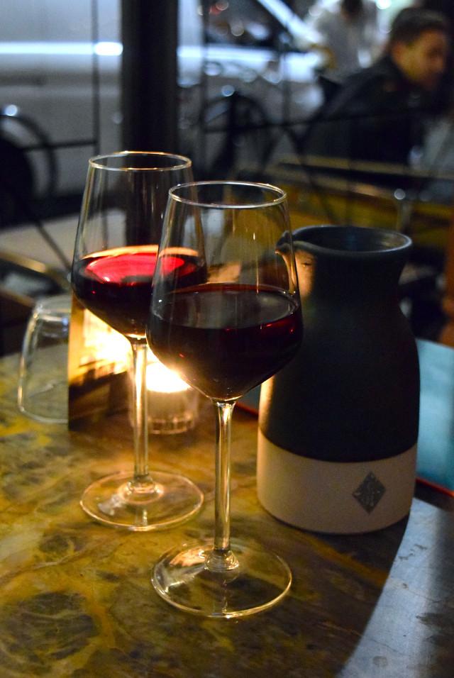 House Red Wine at Canova Hall, Brixton   www.rachelphipps.com @rachelphipps