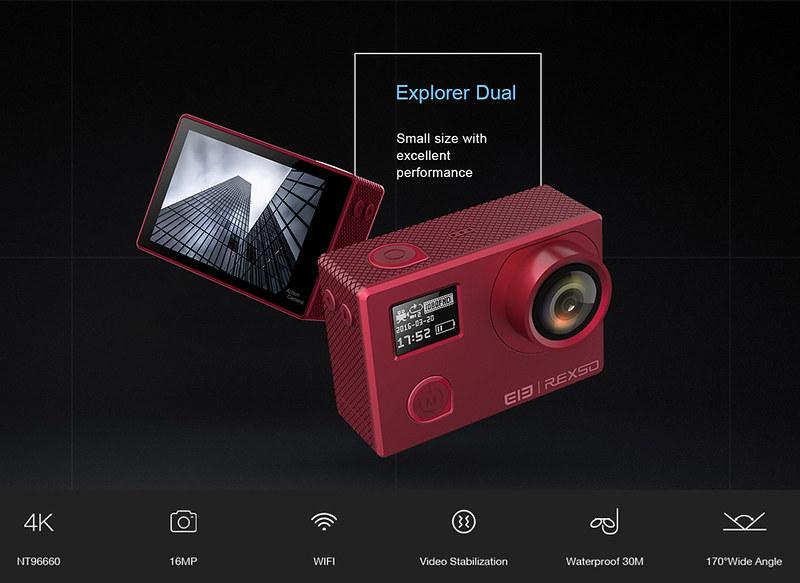 Elephone Elecam Explorer Dual  (1)レビュー