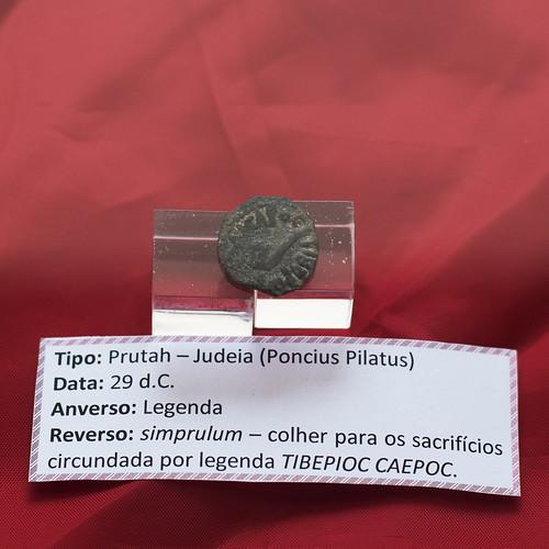 Bronze prutah of Pontius Pilate