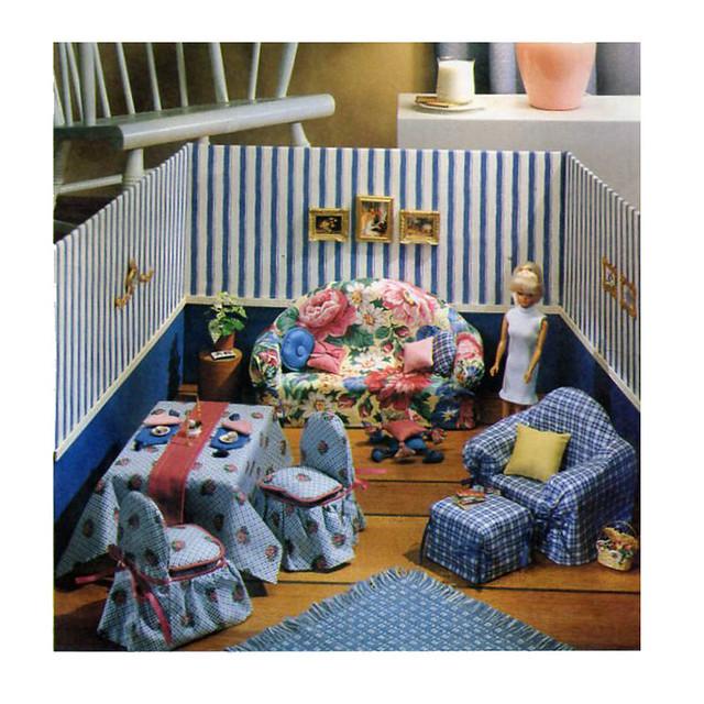McCalls 8825 doll furniture pattern