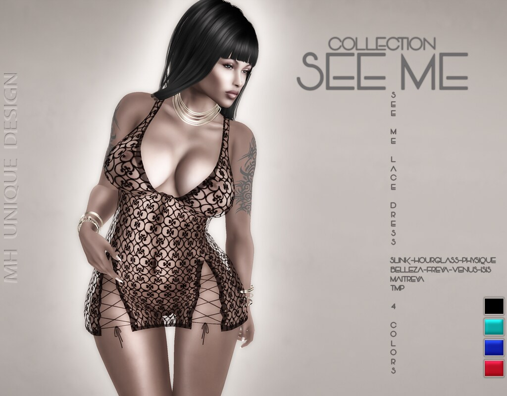 MH-See Me Dress Lace-Collection