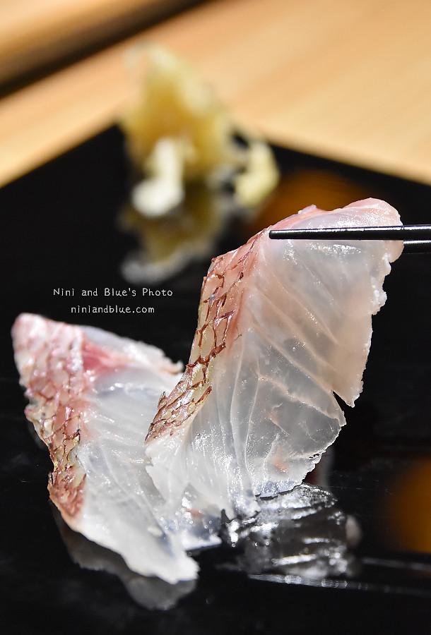 台中壽司一貫入魂將酒肴10