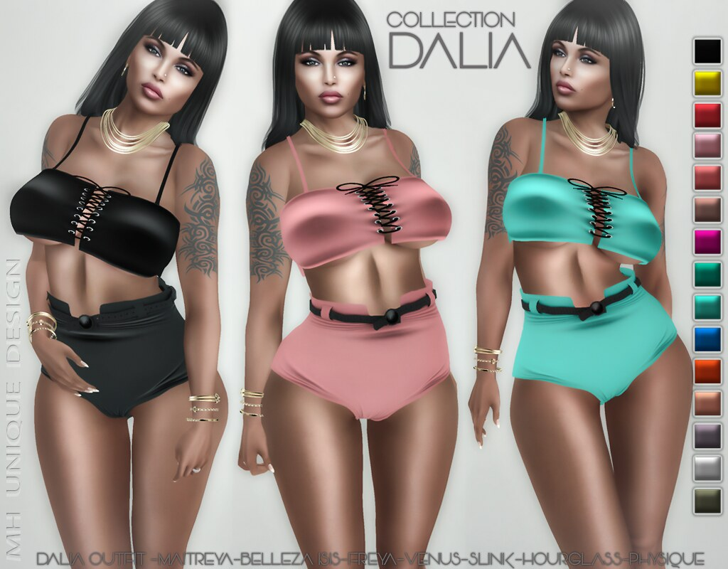 MH-Dalia Outfit -Collection - TeleportHub.com Live!