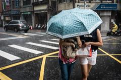 In the Rain, Taipei, Oct. 2017