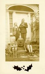Merry Halloween from Brunswick, Maine, 1943