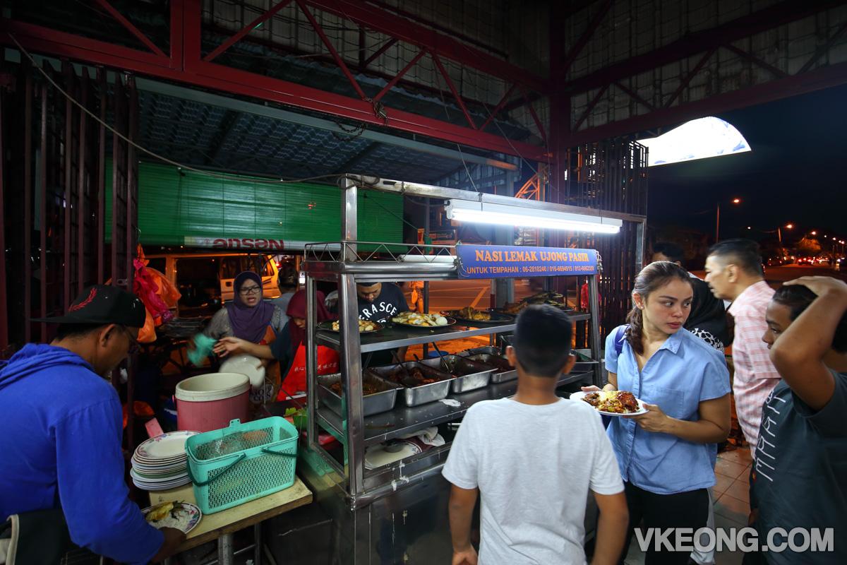 Melaka-Nasi-Lemak-Ujong-Pasir-Ming-Huat