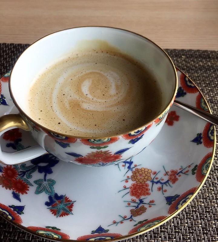 早餐喝咖啡 (1)