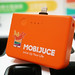 Hong Kong-based Internet of Things startup MobiJuce today (October 30) launched one of the first app-based power bank rental services in Hong Kong. Customers can use the mobile app to find the nearest JuceBox rental station on the map and return it to a different location.  香港物聯網初創企業MobiJuce今日(十月三十日)推出全港其中首個以應用程式租借充電器服務。顧客可透過MobiJuce手機應用程式在地圖尋找最近的JuceBox機座充電器租借站,並可於不同地點歸還。