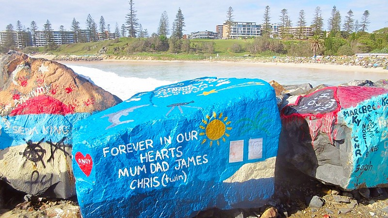 Painted Rock Art Port Macquarie