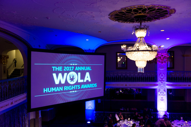 2017 WOLA Human Rights Awards and Gala