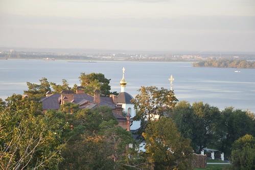 Купола Церкви Константина и Елены. Свияжск.