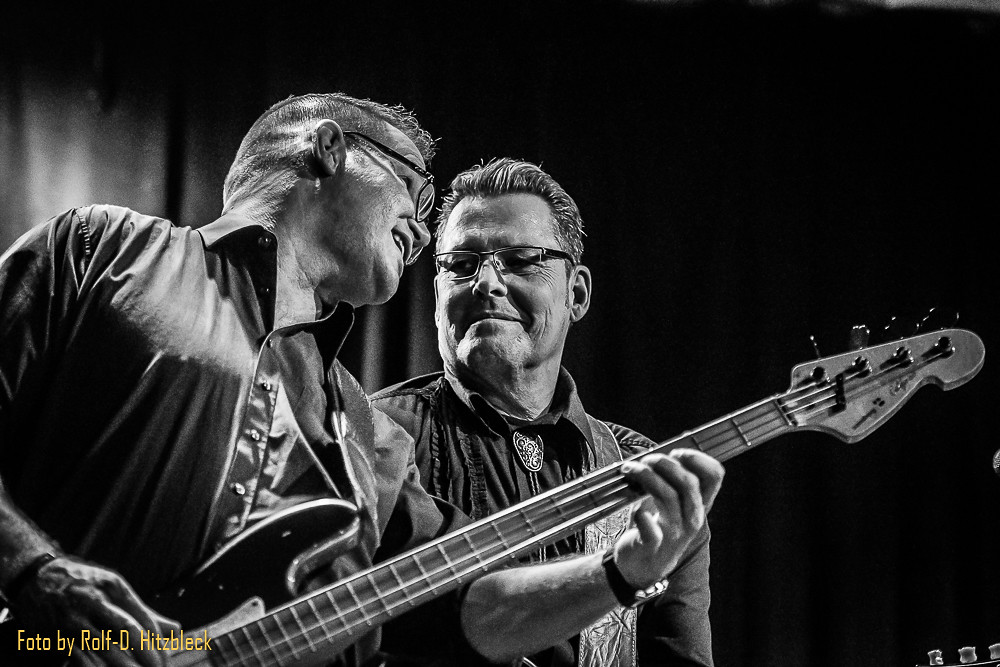 Johnny Cash Experience Börse Wuppertal, Joe Sander und Olli Jahnke
