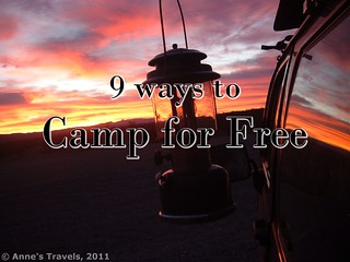 9 Ways to Camp for Free