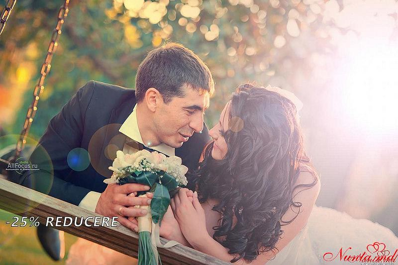 AllFocus Studio - Frumos, Calitativ, Stilat!  > Ofertă foto-video specială pentru cei care vor juca nunta până la sfârșitul anului 2017.