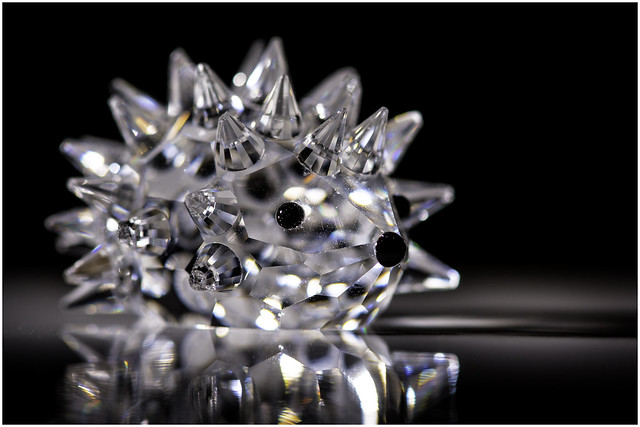 Macro Mondays - Souvenir - Swarovski Crystal Hedgehog (From Austria)