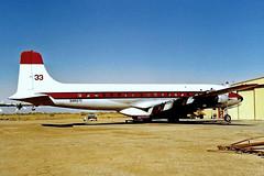 N4487C   Douglas DC-7B [45351] (International Air Response) Chandler-Memorial Airfield~N 17/10/1998