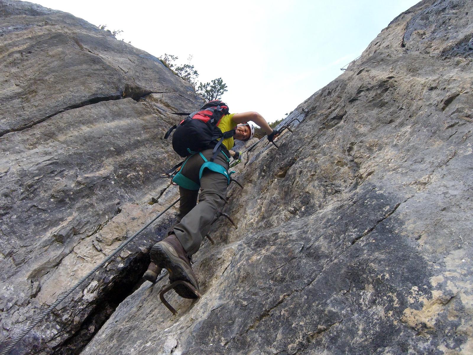 Klettersteig Kanzelwand : Gesicherter nervenkitzel klettersteige immer beliebter n tv