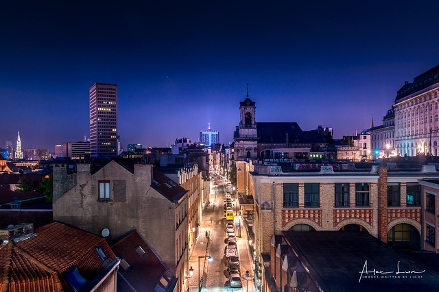 Brussels By Night I