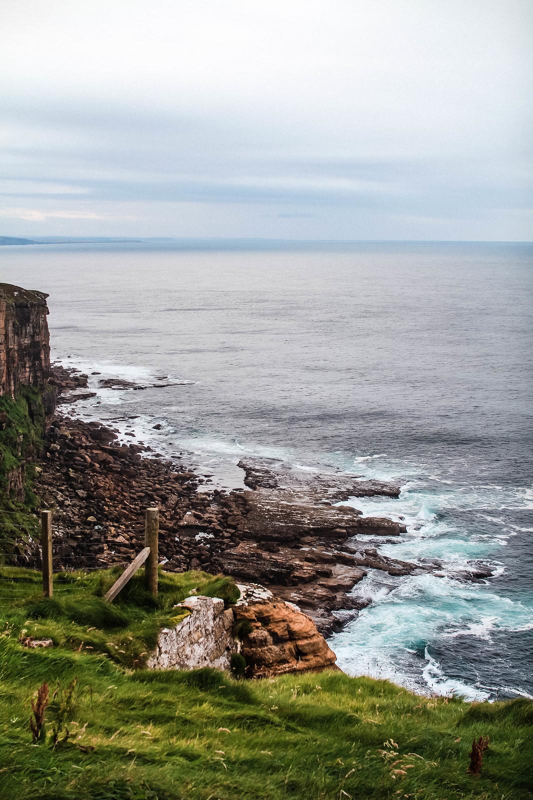 Dunnet Head Scotland NC500 best coastal views travel blogger UK