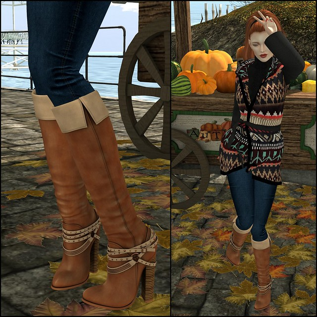Autumn = Sweaters + Boots