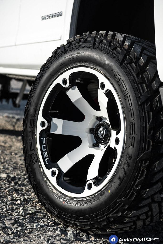 2017 Chevy Silverado 1500 Z71 4x4 | 20x12 Fuel Wheels ...